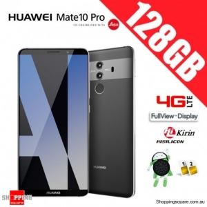 Huawei Mate 10 Pro 128GB BLA-L29 Dual Sim 4G LTE Unlocked Smart Phone Titanium Gray