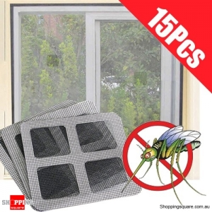15PCS of Anti-Insect Fly Bug Mosquito Screen Net Patch for Door Window House