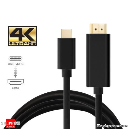 USB Type C Male to HDMI Male 4K Cable For Samsung Galaxy S8/S8 Plus