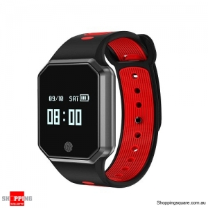 QW11 Fashionable Sport Smart Watch Red Colour