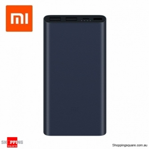 2018 New Xiaomi 10000mAh Power Bank 2 Dual USB Quick Charge 3.0 Portable Charger for Black Colour