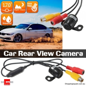 Car Rear View 170 Degree Wide Angle Waterproof Reversing Parking Camera with Night Vision Function
