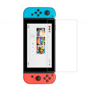 2X 0.26mm 9H HD Tempered Glass Screen Protector for Nintendo Switch