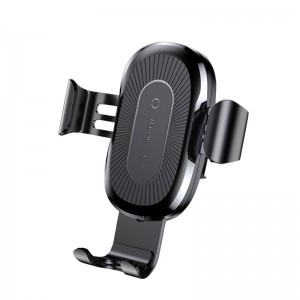 Baseus Fast Wireless Charger Car Mount Air Vent Holder for Qi-enabled Devices