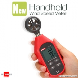 Mini Pocket Digital Wind Speed Meter Tester Anemometer Thermometer Equipment