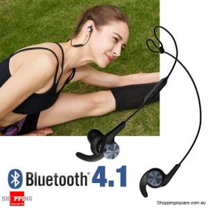 1MORE iBFree Bluetooth 4.1 Wireless In-Ear Sports Outdoor Running Earphones Black Colour