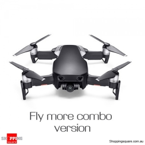 DJI Mavic Air Fly More Combo Foldable Drone Quadcopter with FPV 3-Axis Gimbal 4K HD 32MP Sphere Panorama Black Colour