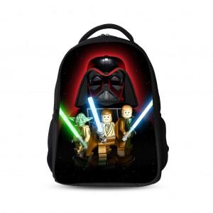 Star Wars 3D Prints Backpack Schoolbag for Kids