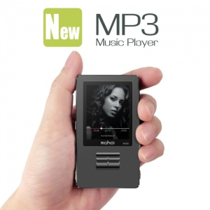 HiFi Mini High Quality MP3 Music Player with 1.8 Inch Screen Supported 128GB MicroSD Card Black Colour
