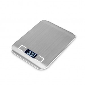 Mini Stainless Steel Accurate 1g/5kg Kitchen Scale with LCD Display