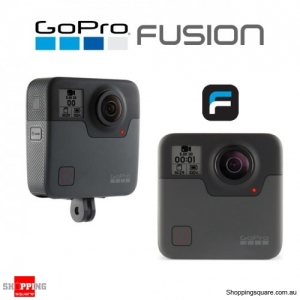 GoPro Fusion 360 Degree 5.2K VR Sports Digital Camera Black