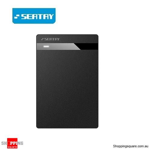 SEATAY USB 3.0 External 2.5inch SATA SDD HDD Hard Drive Disc Enclosure Case Box Black Colour