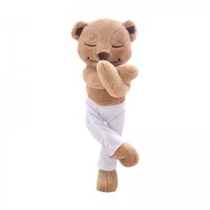 Totally Poseable Meddy Teddy Yoga Bear