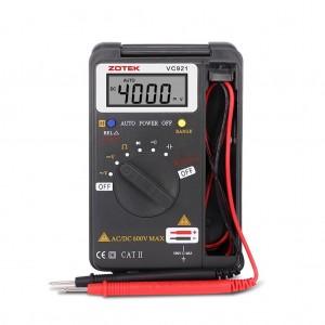 ZOTEK VC921 Portable Auto Range AC/DC Digital Multimeter