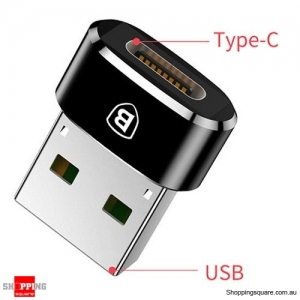 Baseus USB Male to USB Type C Female OTG Adapter For Samsung Galaxy S9 S8 Note 8