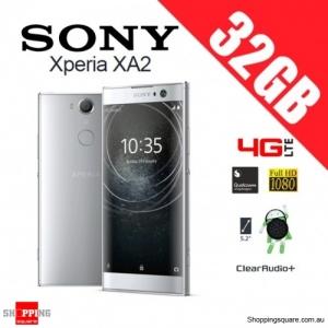 Sony Xperia XA2 32GB H4133 Dual Sim 4G LTE Unlocked Smart Phone Silver