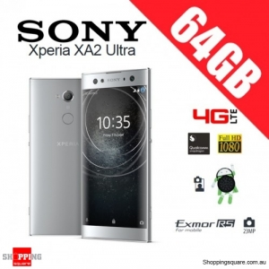 Sony Xperia XA2 Ultra 64GB H4233 Dual Sim 4G LTE Unlocked Smart Phone Silver