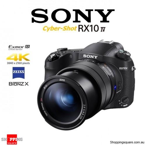 Sony Cyber-Shot DSC-RX10 IV 20.1MP 4K Ultra HD Digital Camera Black