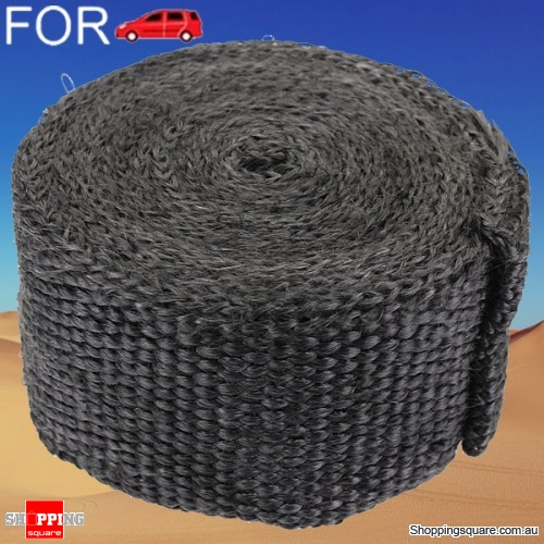5cm x 5m Black Exhaust Header Heat Wrap