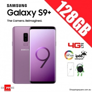 Samsung Galaxy S9 Plus 128GB Dual Sim 4G LTE Unlocked Smart Phone Lilac Purple