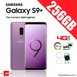 Samsung Galaxy S9 Plus 256GB Dual Sim 4G LTE Unlocked Smart Phone Lilac Purple