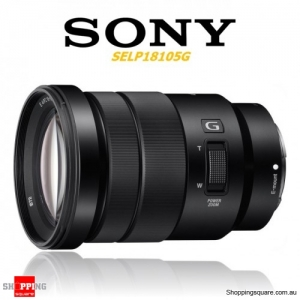 Sony E PZ 18-105mm F4 G OSS Camera Lens Black