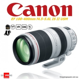 Canon EF 100-400mm f4.5-5.6L IS II USM Digital Camera Lens White