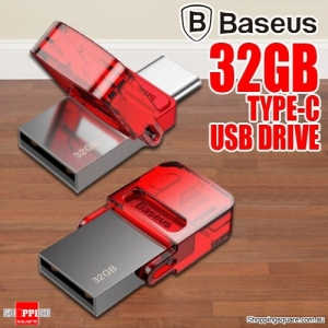 Baseus 32GB Type-C USB Flash Drive Memory Stick For Smart Phone PC Laptop