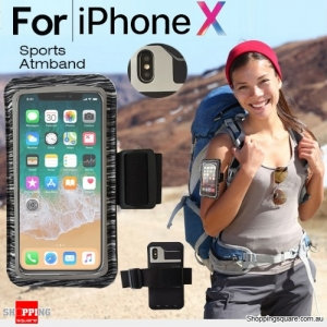 Sports Running Armband Case for iPhone X Black Colour