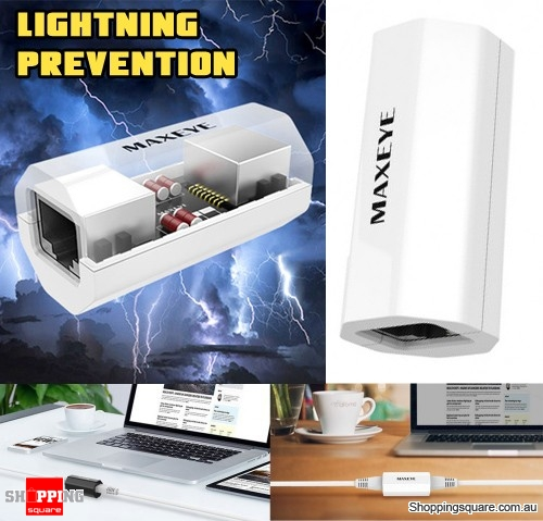 RJ45 Lightning Prevention Ethernet Network Web Broadband LAN Extender