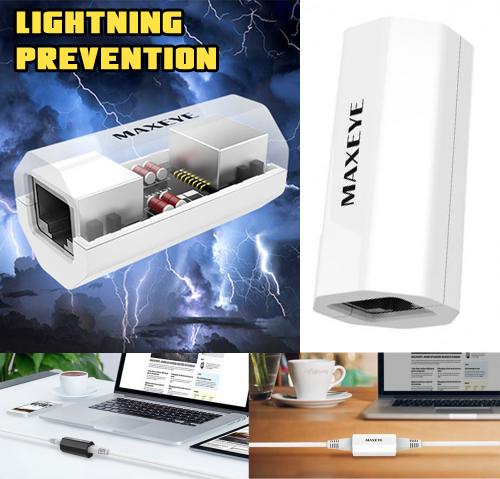 RJ45 LightningPrevention Ethernet Network Web Broadband LAN Extender