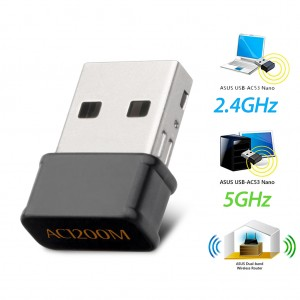 1200Mbps Dual Band USB WiFi Network Adapter Dongle