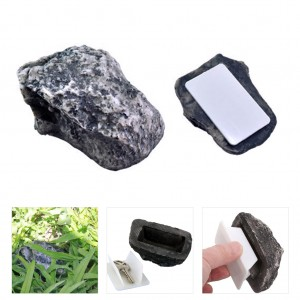 Fake Rock Key Hidden Holder Keeper Outdoor Key Box
