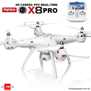 SYMA X8PRO GPS One Key Return 720P HD WiFi Quadcopter