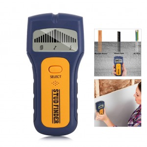 3 in 1 Electric Stud Finder Wall Scanner Wood Metal Detector with Sound Warning