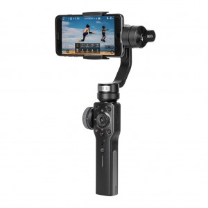 Zhiyun Smooth 4 3 Axis Brushless Handheld Gimbal Stabilizer for iPhone Samsung - Black Colour
