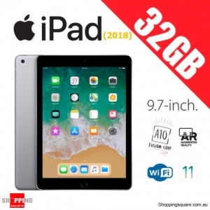 Apple iPad 9.7 (2018) WiFi 32GB Tablet Computer PC Space Gray