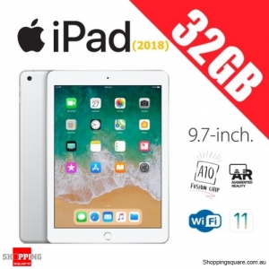 Apple iPad 9.7 (2018) WiFi 32GB Tablet Computer PC Silver