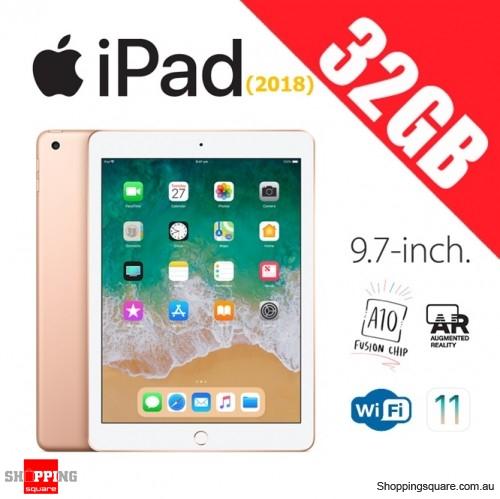 Apple iPad 9.7 (2018) WiFi 32GB Tablet Computer PC Gold