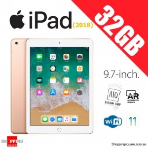 Apple iPad 9.7 (2018) WiFi 32GB Tablet Computer PC Gold