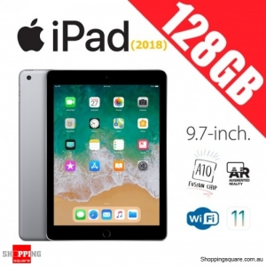 Apple iPad 9.7 (2018) 128GB WiFi Tablet Computer PC Space Gray