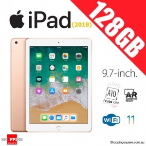 Apple iPad 9.7 (2018) 128GB WiFi Tablet Computer PC Gold
