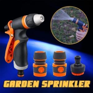 Adjustable Garden Car High Pressure Irrigation Sprayer Sprinkler Nozzle Hose Coupler