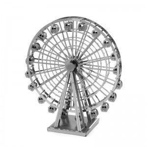 Ferris Wheel 3D Metal Puzzle DIY Model Toy Kit
