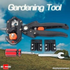 Pro Fruit Tree Pruning Shears Grafting Cutting Scissor Tool Set for Garden