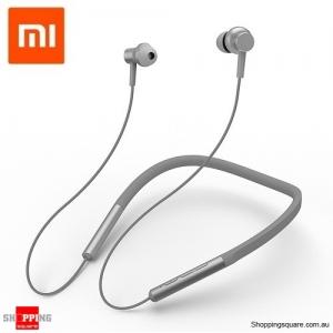 Xiaomi Bluetooth 4.1 Necklace Earphones Headphones - Grey