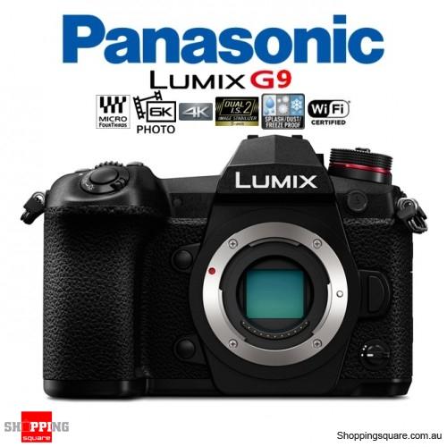Panasonic Lumix DMC-G9 DSLR 20.3MP Digital Camera 4K Ultra HD 6K WiFi Body Black