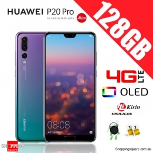 Huawei P20 Pro 128GB CLT-L29 4G LTE Dual Sim Unlocked Smart Twilight