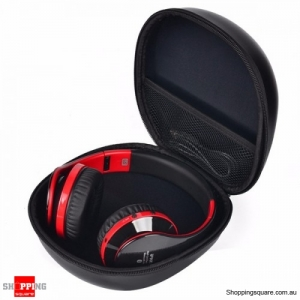 Universal PU Headphone Storage Bag Black Colour