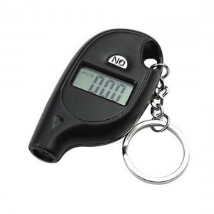 Mini LCD Digital Tire Pressure Gauge Keychain